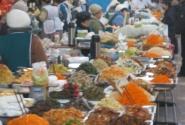 базар. ряды корейских салалтов