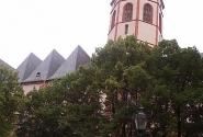 Рейн. Майнц. Церковь Св. Стефания