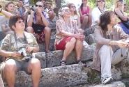 Блоггеры на экскурсии в древнем Фаселисе