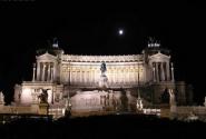 Ночной Рим. Площадь Венеции.