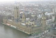Лондон с высоты птичьго полета. Стоит прокатиться на самом высоком в мире колесе обозрения.