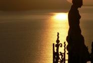 После заката на Санторини