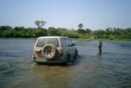 Река Бафинг на границе Гвинеи и Мали
