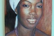 Картина широкоизвестного в узких кругах гвинейского художника.