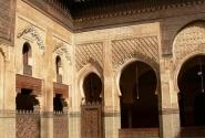 Медресе Бу-Инанья — одно из старейших теологических училищ мусульманского мира. XIV век.