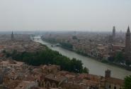 Панорама Вероны.