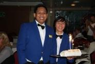Наша официантка и её помощник