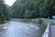 Тиса - горная река.