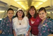 стюардессы местных авиалиний