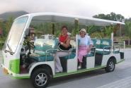 на автобусе по паркам