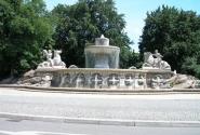 Фонтан в Мюнхене