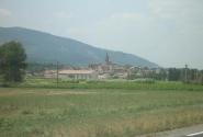 Типичный французский городок