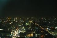 Ночной Бангкок, вид сверху