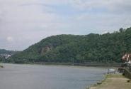 Рейн сливается с Мозелем