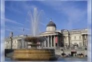 Фонтан на площади Trafalgar