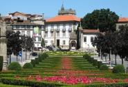 Площадь Республики Бразилии. Капелла Guia вдали справа