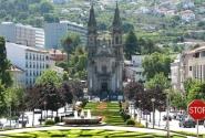 Площадь Республики Бразилии. Церковь Сантуш-Пасуш