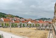 Алкобаса. Площадь перед монастырём