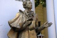 Пушкин хвастается после рыбалки
