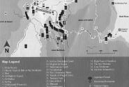 Карта Петры для составления маршрута обследования