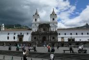 Кито. Площадь и собор Санто-Доминго.