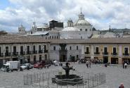 Площадь перед собором Святого Франциска.