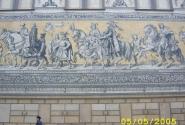 Стена Дрезденской Картинной галереи...все правители указаны тут..