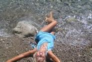 ляжу на пляжу)