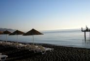 море утром