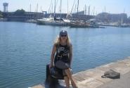 на набережной Барселоны