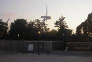 Украшение Барселонского стадиона