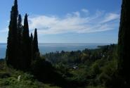 Новый Афон. Панорама. Море