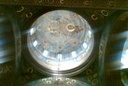 Купол монастыря. Новый Афон.