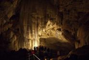 Пещера не поразила. Разве что размерами гротов.