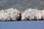 Вид на берега Саронического залива.