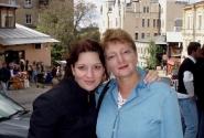 Мы с мамой на Андреевском спуске.