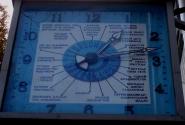 Часы :время  по странам и континентам.