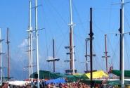 Яхты в порту.