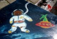 Таких не берут в космонавты...э-эх! Ну, хоть так!