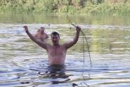 Сбор кувшинок. Ловлю рыбы - не застала.