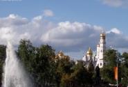 Золотые купола Кремлевских соборов