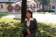 На церковном дворе у Церкви Николы в Берсеньеве