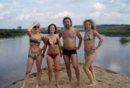 Посреди реки Угры