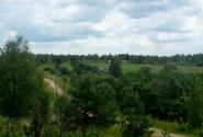 Вид с горы на д.Луги