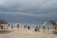 А это городской пляж в Анапе