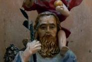 Святой Христофор, несущий Иисуса на своих плечах - один из символов города Львова.