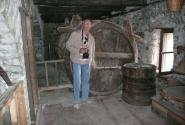 В монастырских подвалах.