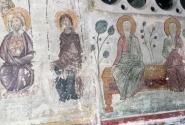 Метеорам - больше 600 лет. Сохранившиеся фрески.