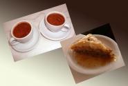 Бесчисленные чашки кофе..... И единственная проба национального греческого пирожного :)