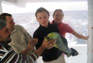 Это самая большая рыба при мне пойманная